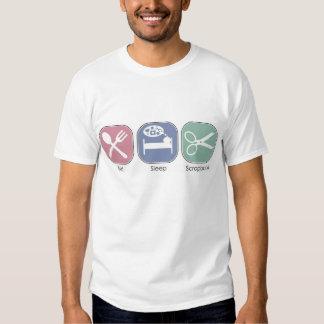 Eat Sleep Scrapbook Shirt