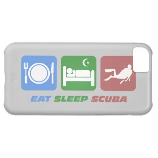 eat sleep scuba iPhone 5C covers