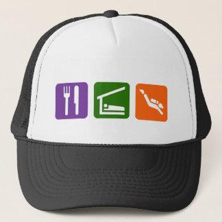 Eat Sleep Scuba Diving Trucker Hat