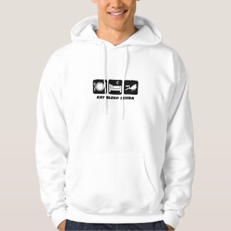 eat sleep scuba hoodie
