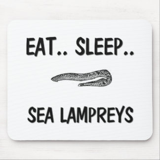 Eat Sleep SEA LAMPREYS Mouse Pad