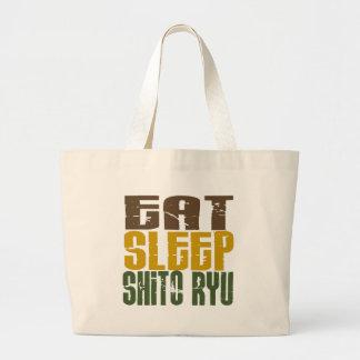 Eat Sleep Shito Ryu 1 Canvas Bag