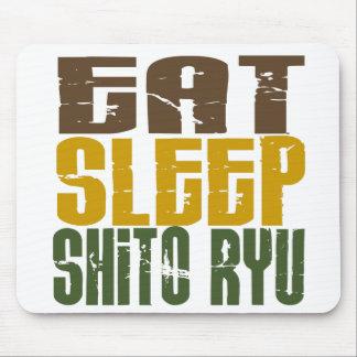 Eat Sleep Shito Ryu 1 Mousepads