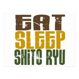 Eat Sleep Shito Ryu 1 Post Cards