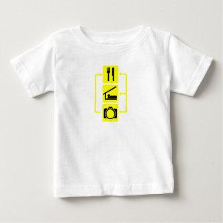 Eat Sleep Shoot Vertical Digital Camera Photograph Shirt