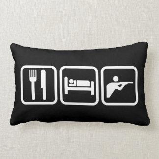 Eat Sleep Shooting Pillows