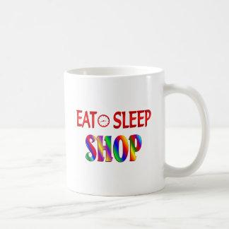 Eat Sleep Shop Mugs