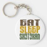 Eat Sleep Shotokan 1 Key Chain