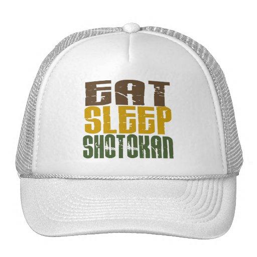 Eat Sleep Shotokan 1 Trucker Hat