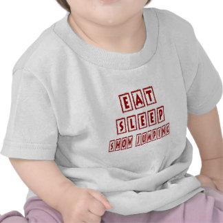 Eat Sleep Show jumping Tee Shirt