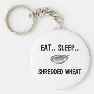 Eat Sleep SHREDDED WHEAT Key Chains