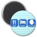 Eat Sleep Sierra Leone Magnets