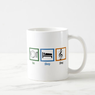 Eat Sleep Sing Coffee Mug