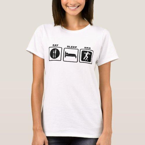 Eat Sleep SK8 T_Shirt