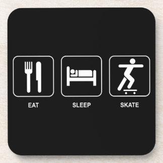 Eat Sleep Skate Coaster