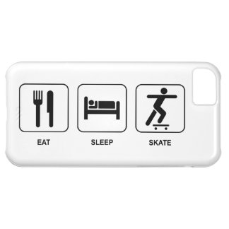 Eat Sleep Skate iPhone 5C Cover