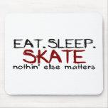 Eat Sleep Skate Mouse Pad