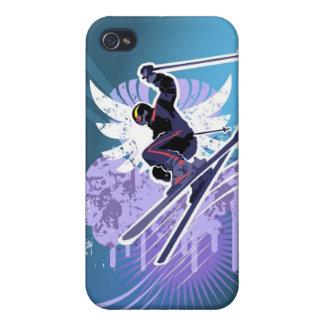 Eat Sleep Ski 4 iPhone 4 Cases