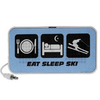 eat sleep ski laptop speakers