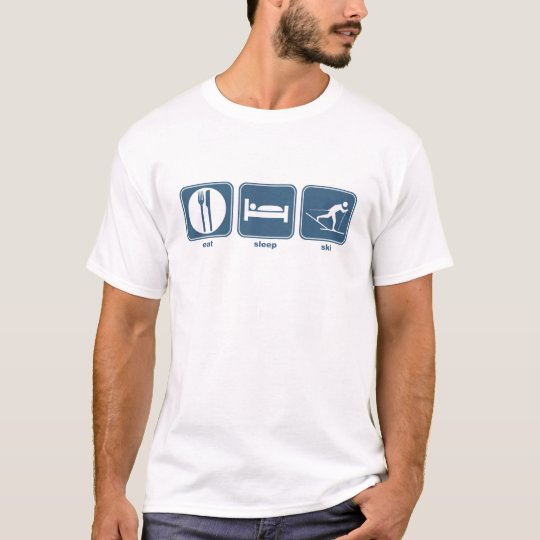 eat sleep ski T-Shirt