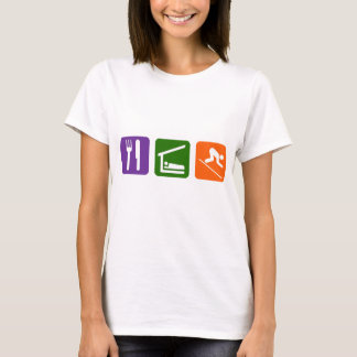 Eat Sleep Skiing T-Shirt