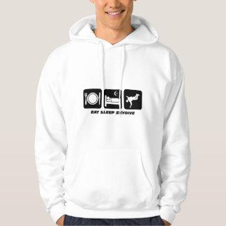 eat sleep skydive hoodie