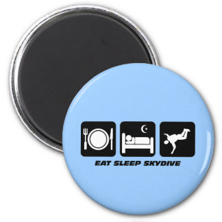 eat sleep skydive magnet