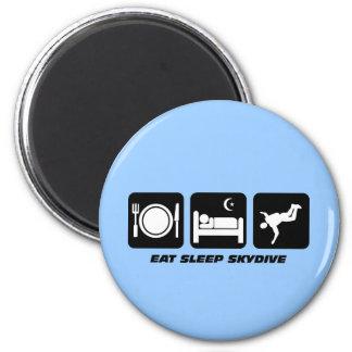 eat sleep skydive fridge magnets