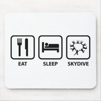 Eat Sleep Skydive Mouse Pad