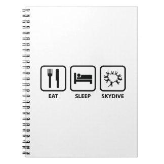 Eat Sleep Skydive Notebook