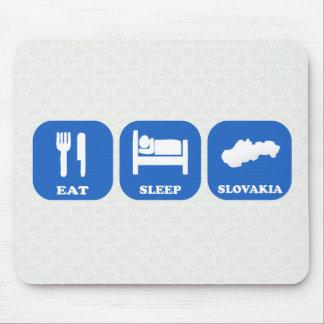 Eat Sleep Slovakia Mouse Pad