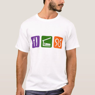 Eat Sleep Snakes T-Shirt