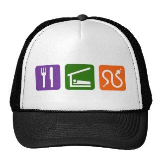 Eat Sleep Snakes Trucker Hat