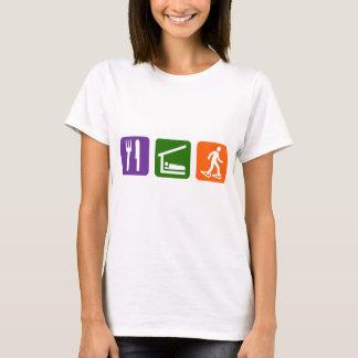 Eat Sleep Snow Shoeing T-Shirt