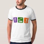 Eat Sleep Snow Shoeing T Shirts