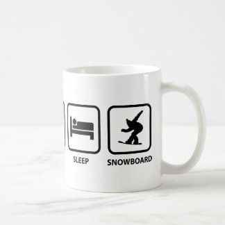 Eat Sleep Snowboard Coffee Mug