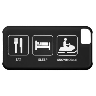 Eat Sleep Snowmobile Cover For iPhone 5C