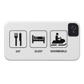 Eat Sleep Snowmobile iPhone 4 Case