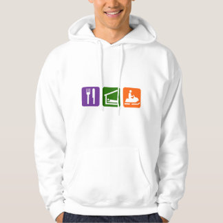 Eat Sleep Snowmobiling Pullover