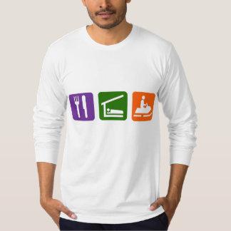 Eat Sleep Snowmobiling Shirt