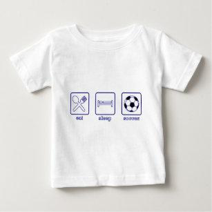 Eat...Sleep...Soccer Baby T-Shirt