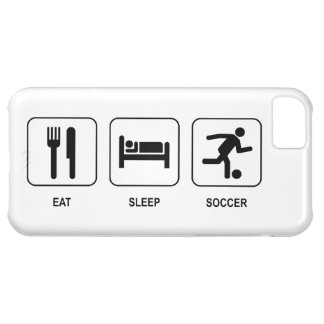 Eat Sleep Soccer Case For iPhone 5C