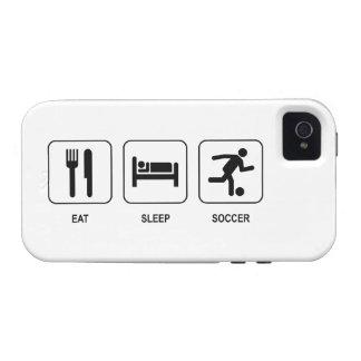 Eat Sleep Soccer Case-Mate iPhone 4 Cases