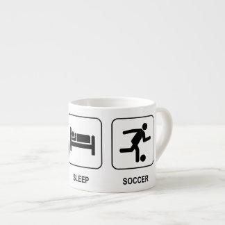 Eat Sleep Soccer Espresso Cup