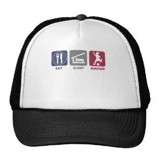 Eat Sleep Soccer - Girl Trucker Hat