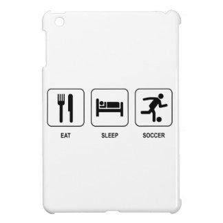 Eat Sleep Soccer iPad Mini Cases