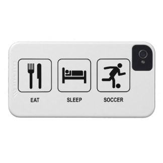 Eat Sleep Soccer iPhone 4 Cover