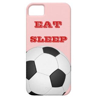 EAT SLEEP SOCCER iPhone 5 Case