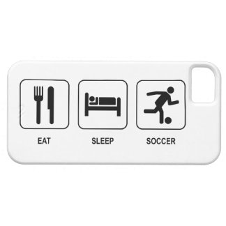 Eat Sleep Soccer iPhone 5 Covers