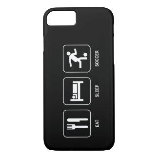 Eat Sleep Soccer iPhone 7 Case